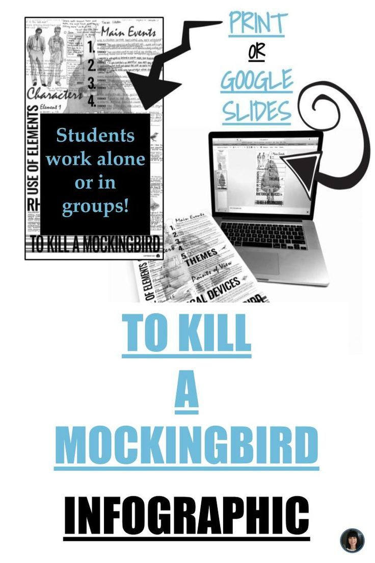 002 To kill a mockingbird (infographic interactive or print