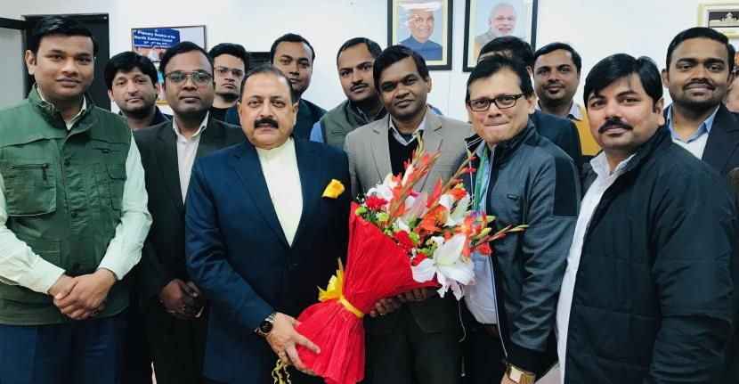 New Delhi Mos Pmo Dr Jitendra Singh Has Proposed Mobile Telephone