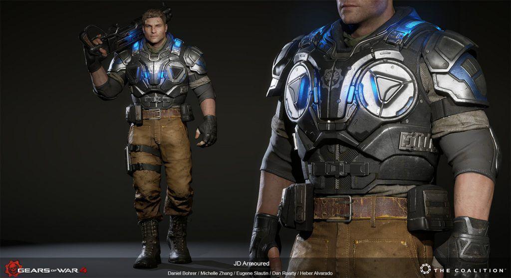 The Coalition Gears of War 4 Art Blast! | Game Art | Gears of war