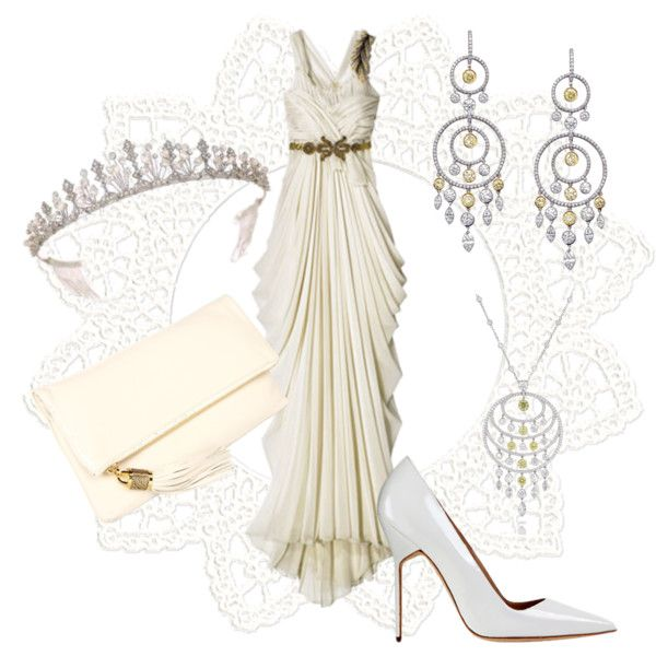 Evening-dress, created by liesje2011 on Polyvore
