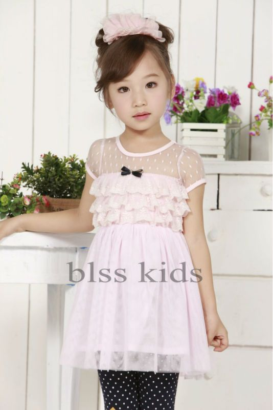 60b52a70e 2013 kid dress for 1-6 year-old baby girls party wear puffy dresses ...