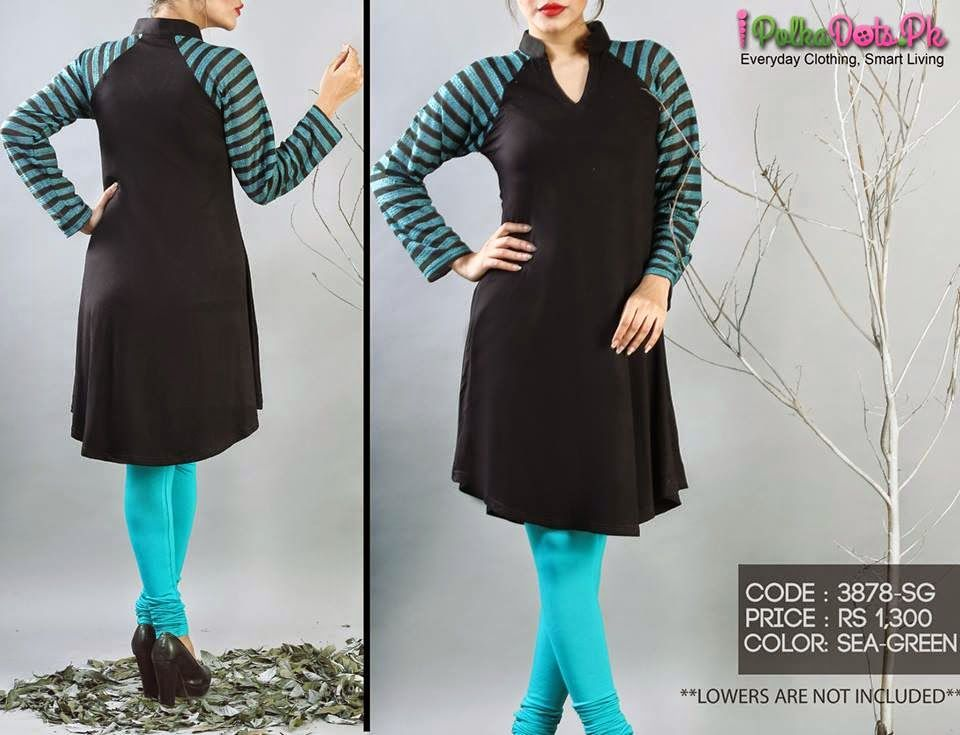 New Kurti Designs   Fancy Sleek Kurti Designs 2015 2016 For Girls By Polka  Dots. New Kurti Designs   Fancy Sleek Kurti Designs 2015 2016 For Girls