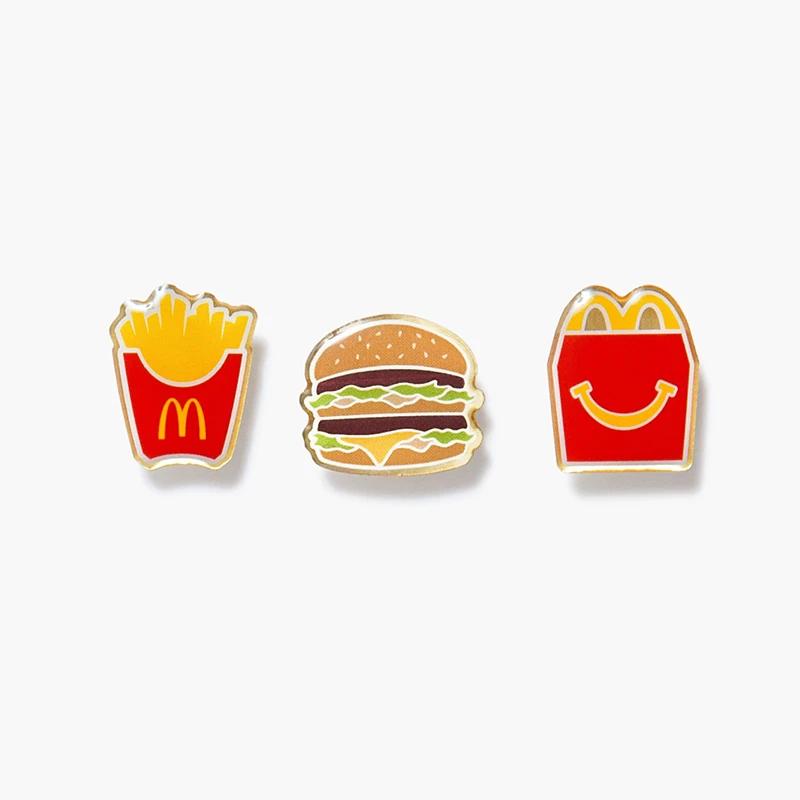 Mcdonald S Meal Pin Set Mcdonalds Happy Meal Mcdonalds Happy Meal