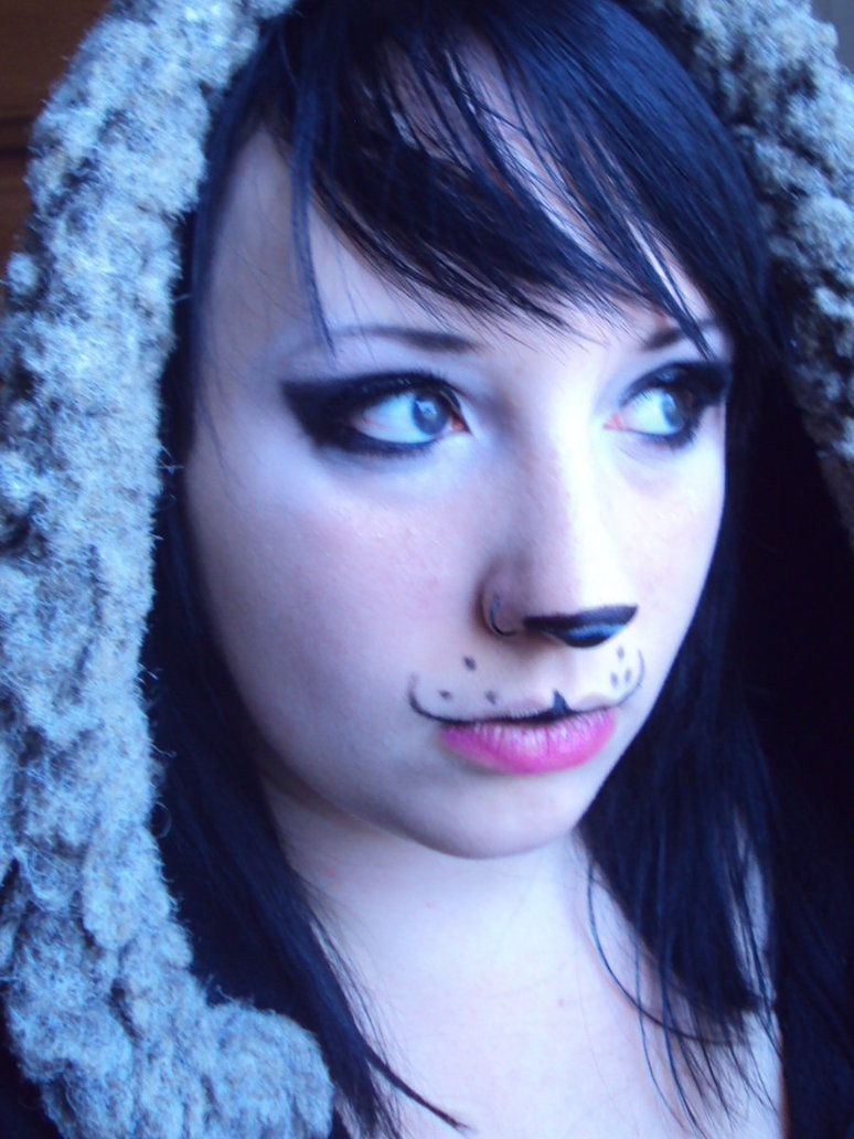 panda bear make up by gothicwolf69 on deviantart halloweeny in