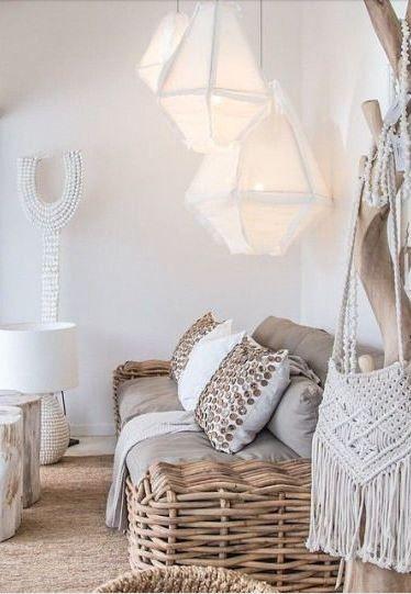 R A T N Boho Living RoomRustic RoomsBoho DecorHome DecoWhite BohemianBoho ChicBoho