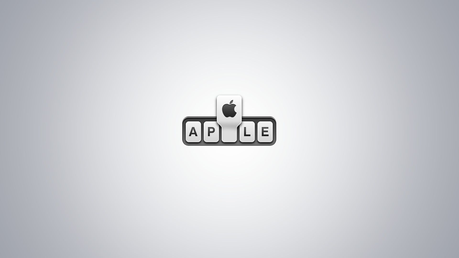 Apple Glass Logo HD Desktop Wallpaper Widescreen High