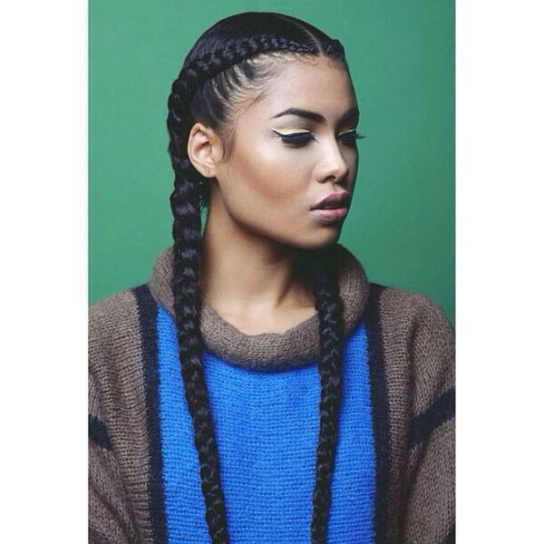 11 Fuss Free Hairstyles For Every Workout Cool Braid Hairstyles Braided Hairstyles Natural Hair Styles