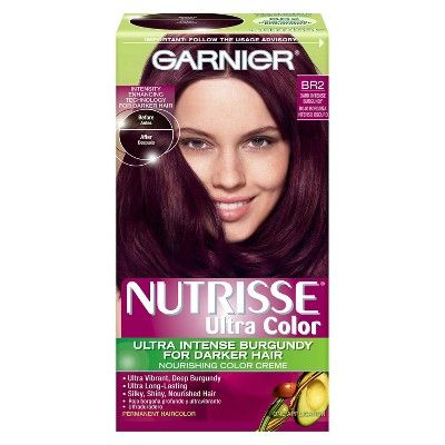 Wine Colored Hair Dye Com Imagens Cores De Cabelo Tendencia
