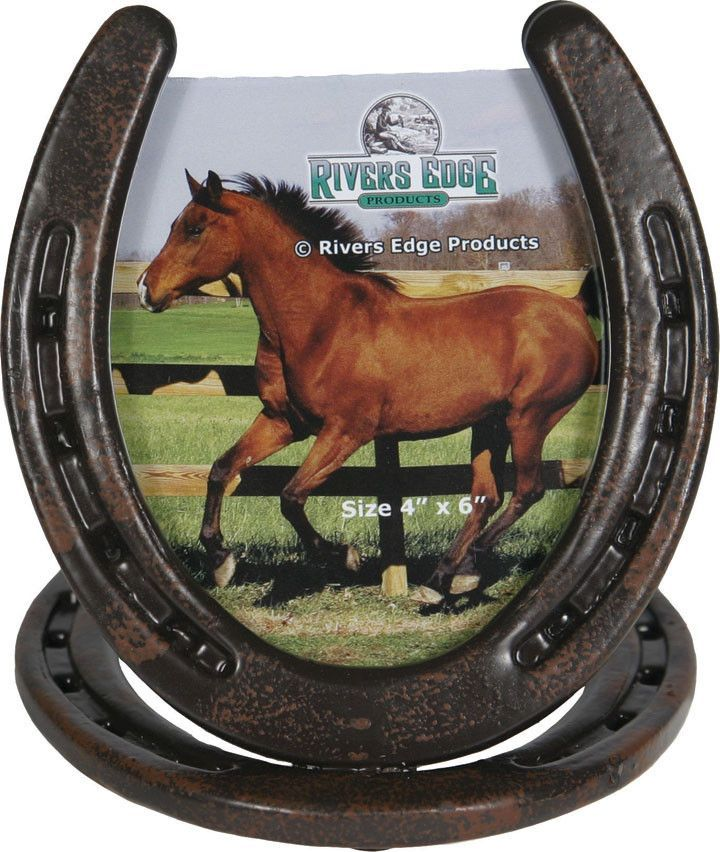 RE1108) Western Horseshoe Picture Frame | Westerns, Horse shoes and ...