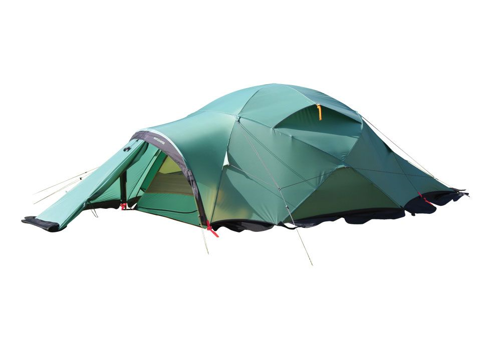 Bought new expedition tent from Dutch tentmaker. Awsome!