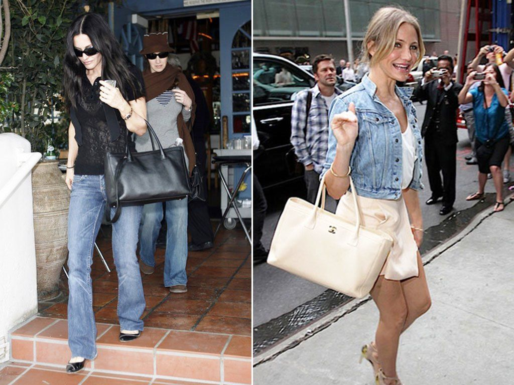 Courteney and Cameron Chanel Cerf Bag Tote  808cf734ca530