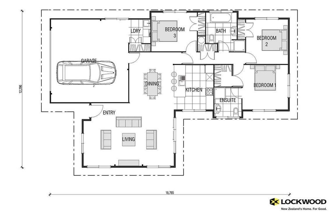 Opal kitset - House Plans New Zealand   House Designs NZ   Interior ...