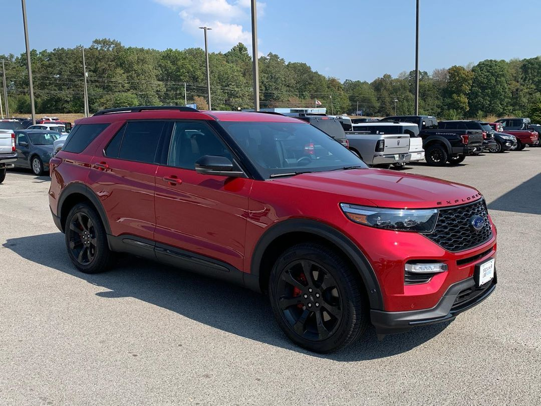 2020 Ford Explorer St These Things Are Insanely Cool With A Tune You Can Run A 12 Second Quarter Mile Absolutely Wild Call Brock For More I 2020 Ford Explorer Ford Explorer Ford