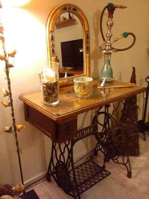 Máquina de coser | Interiores | Pinterest | Máquinas de coser, Coser ...