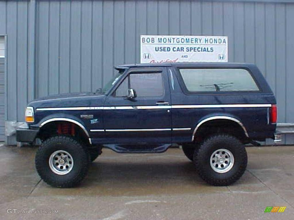Ford bronco blue