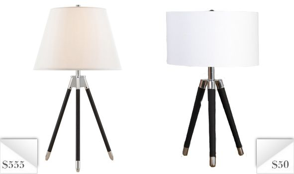 Ralph Lauren Tripod Table Lamp Knockoff For 91% Less!