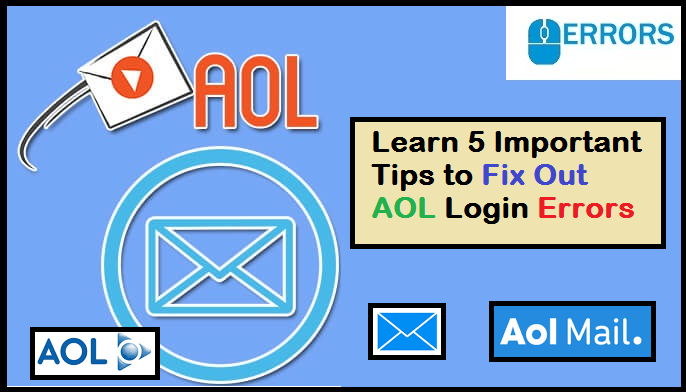 Pin On Learn 5 Important Tips Fix Out Aol Login Errors
