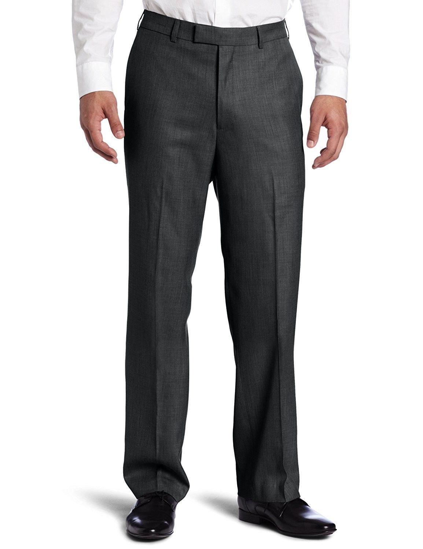 Men S Sharkskin Dress Pant Charcoal C6117zna17x Mens Pants Casual Charcoal Dress Mens Dress Pants [ 1500 x 1154 Pixel ]