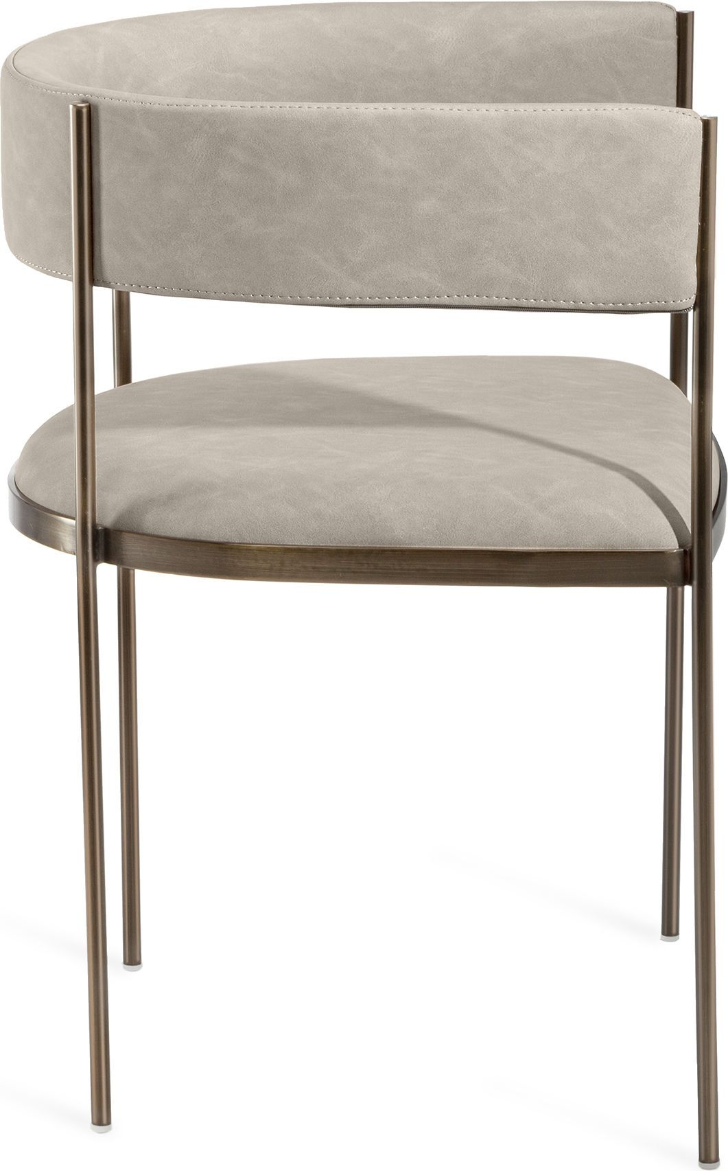 Ryland Dining Chair Finish Distressed Taupe Antique Bronze