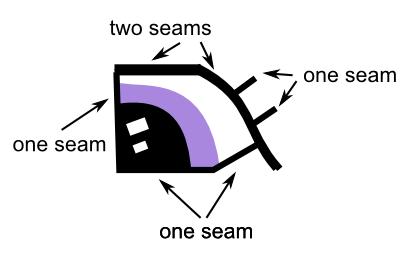 Celestia (My Little Pony) Free Amigurumi Pattern Modification – part 2 (EYES )