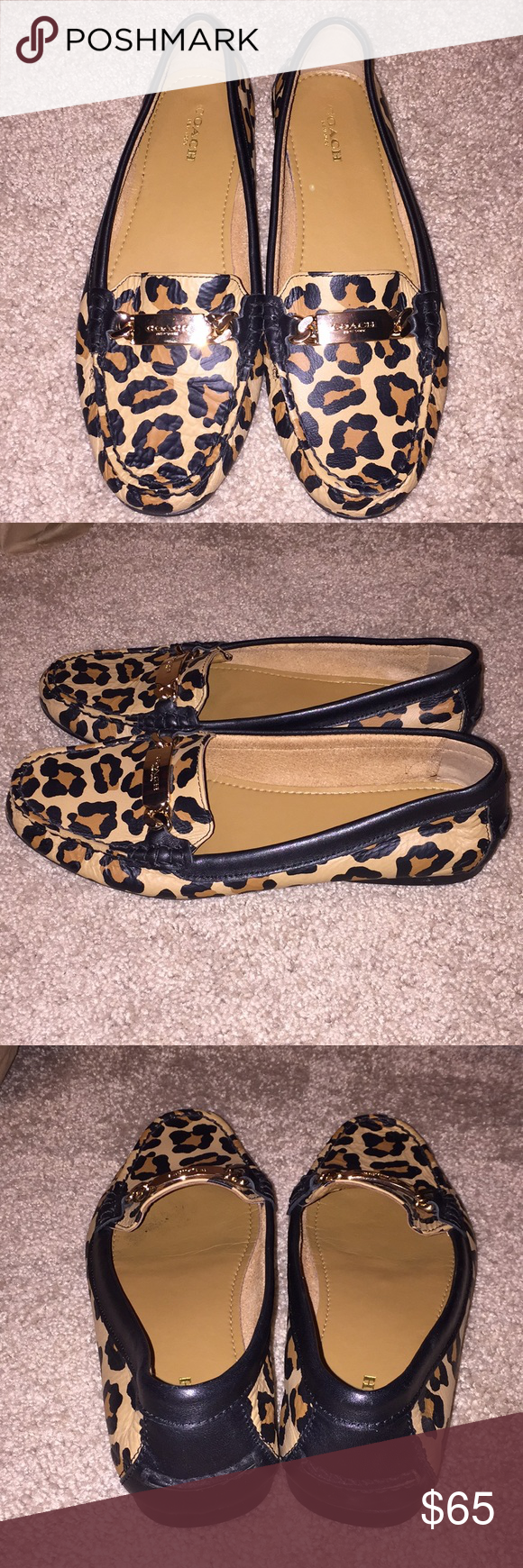 Leopard loafers, Leopard print loafers