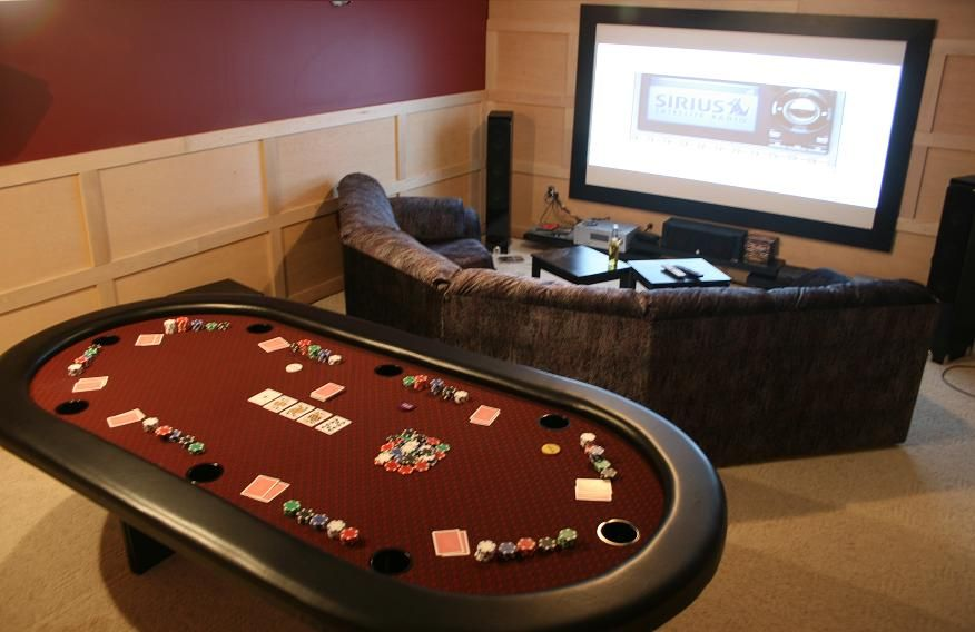 Card game room decor