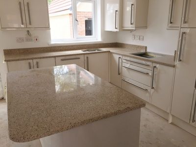 Bamboo Silestone The Marble Warehouse Kitchen Remodel