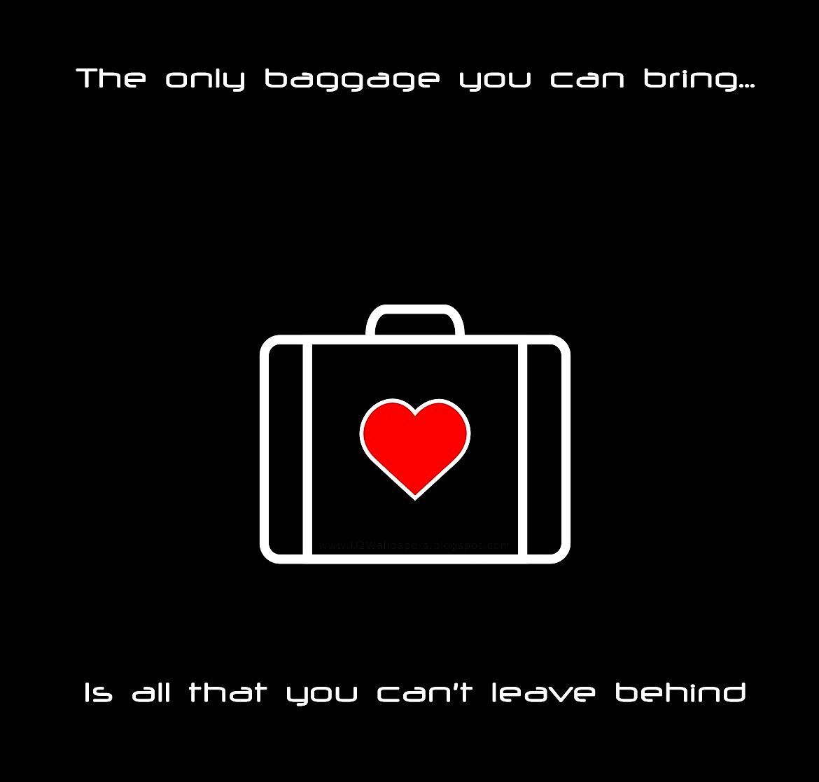 U2 All That You Cant Leave Behind Com Imagens Frases Para