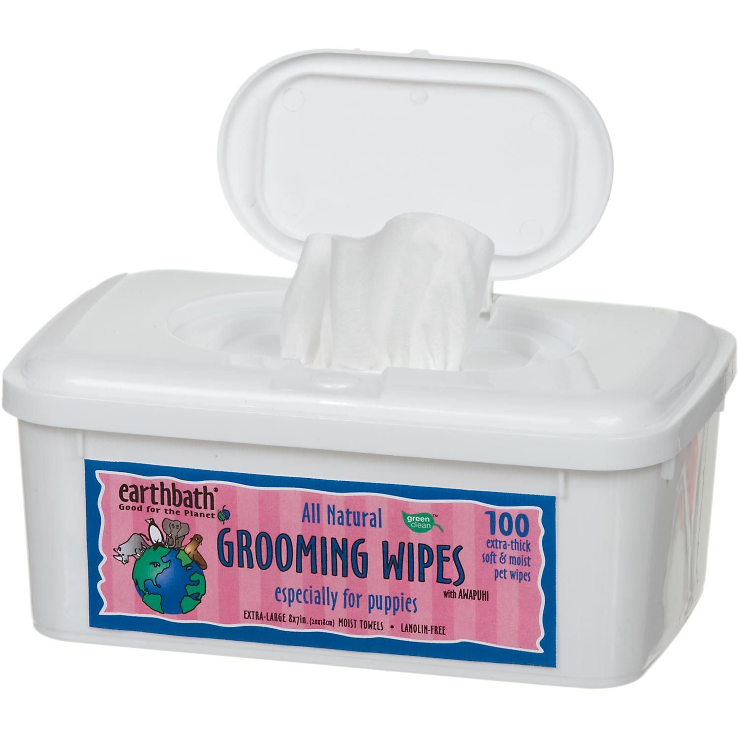 Earthbath All Natural Puppy Grooming Wipes Puppy Grooming Natural Puppy Dog Grooming