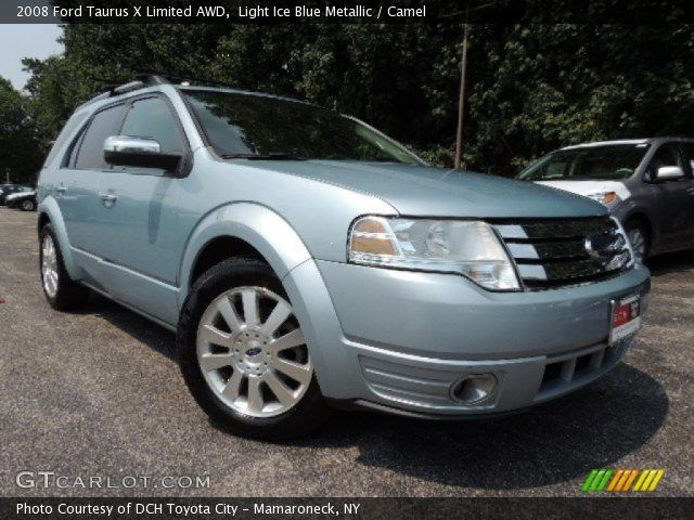 2008 Taurus X Limited 2008 Ford Taurus X Limited Awd In Light Ice Blue Metallic Click To Awd Taurus Ice Blue