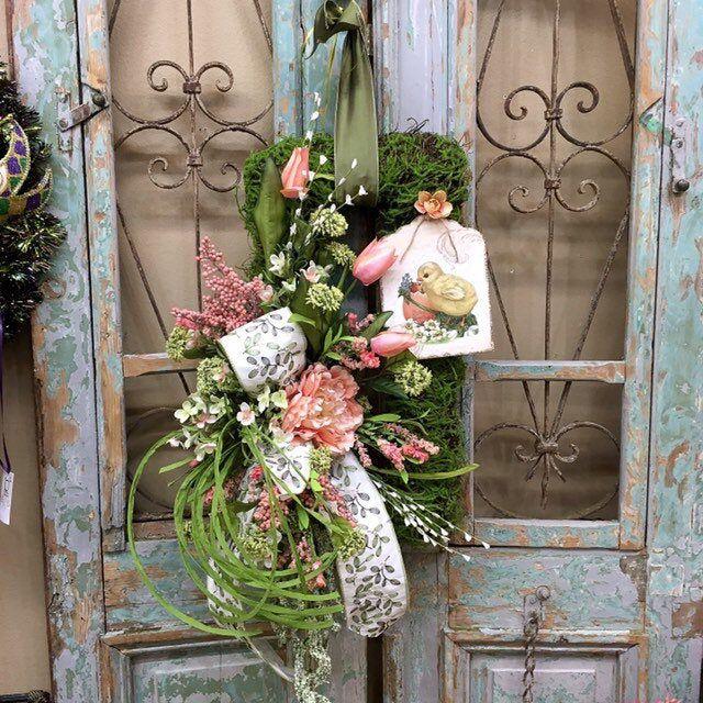 Photo of Easter Wreaths, Spring Wreaths, Easter Wreath, Spring Door Decor