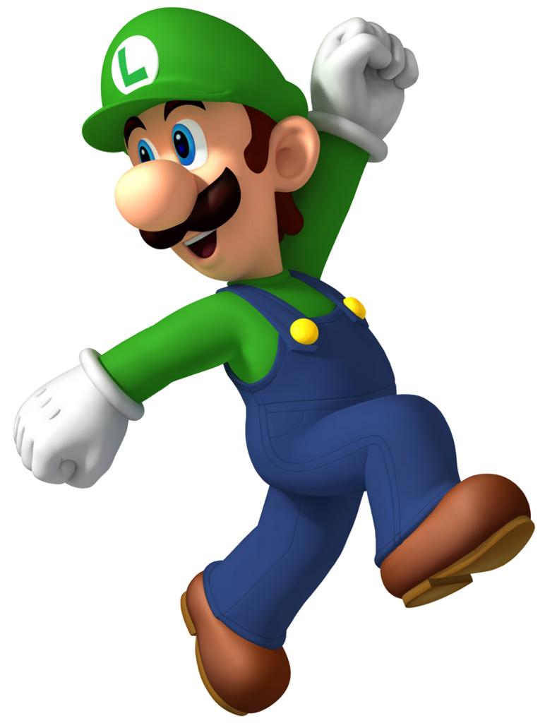 Super Mario Luigi 10 Imagens Png Aniversario Super Mario Desenho Super Mario Festa De Super Mario