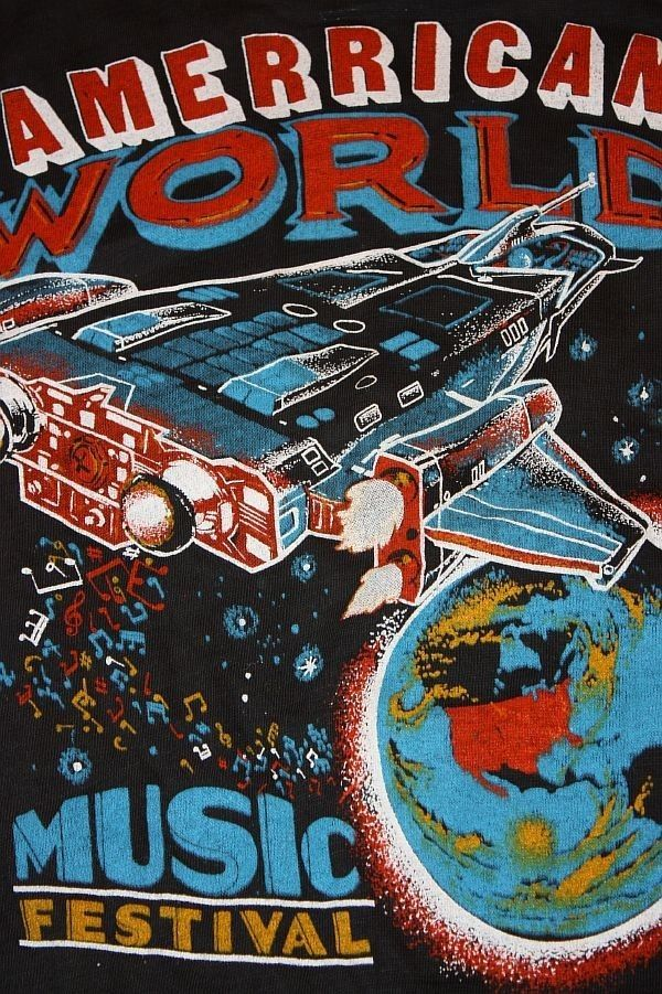 M * NOS vtg 70s 1979 concert tour t shirt AEROSMITH ted nugent VAN HALEN ufo
