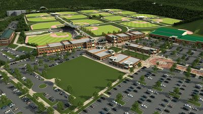 Renderings of the $1 5 billion LakePoint sports and