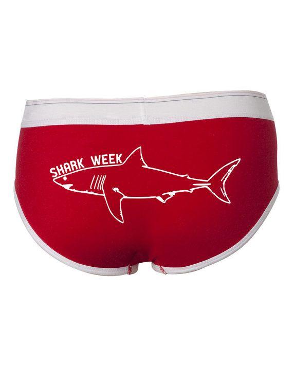 Funny Underwear Meme : Shark week underwear funny period panties