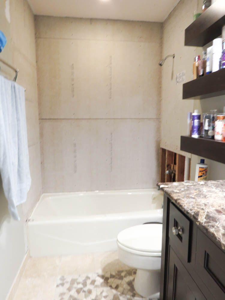 How To Install Bathroom Wall Tiles Bathroom Wall Tile Bathroom Wall Wall Tiles