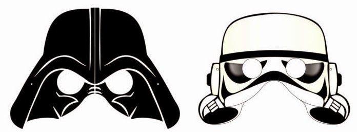 Máscaras de Star Wars para Imprimir Gratis. | Augusto 6 | Pinterest ...