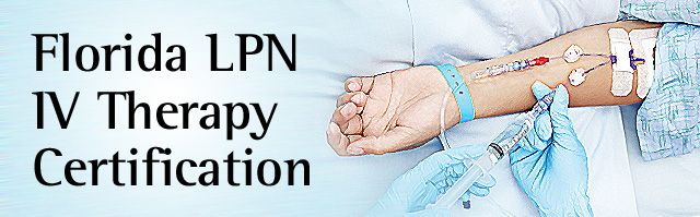 FL LPN IV Therapy Certification | Nursing CE | Pinterest | Therapy