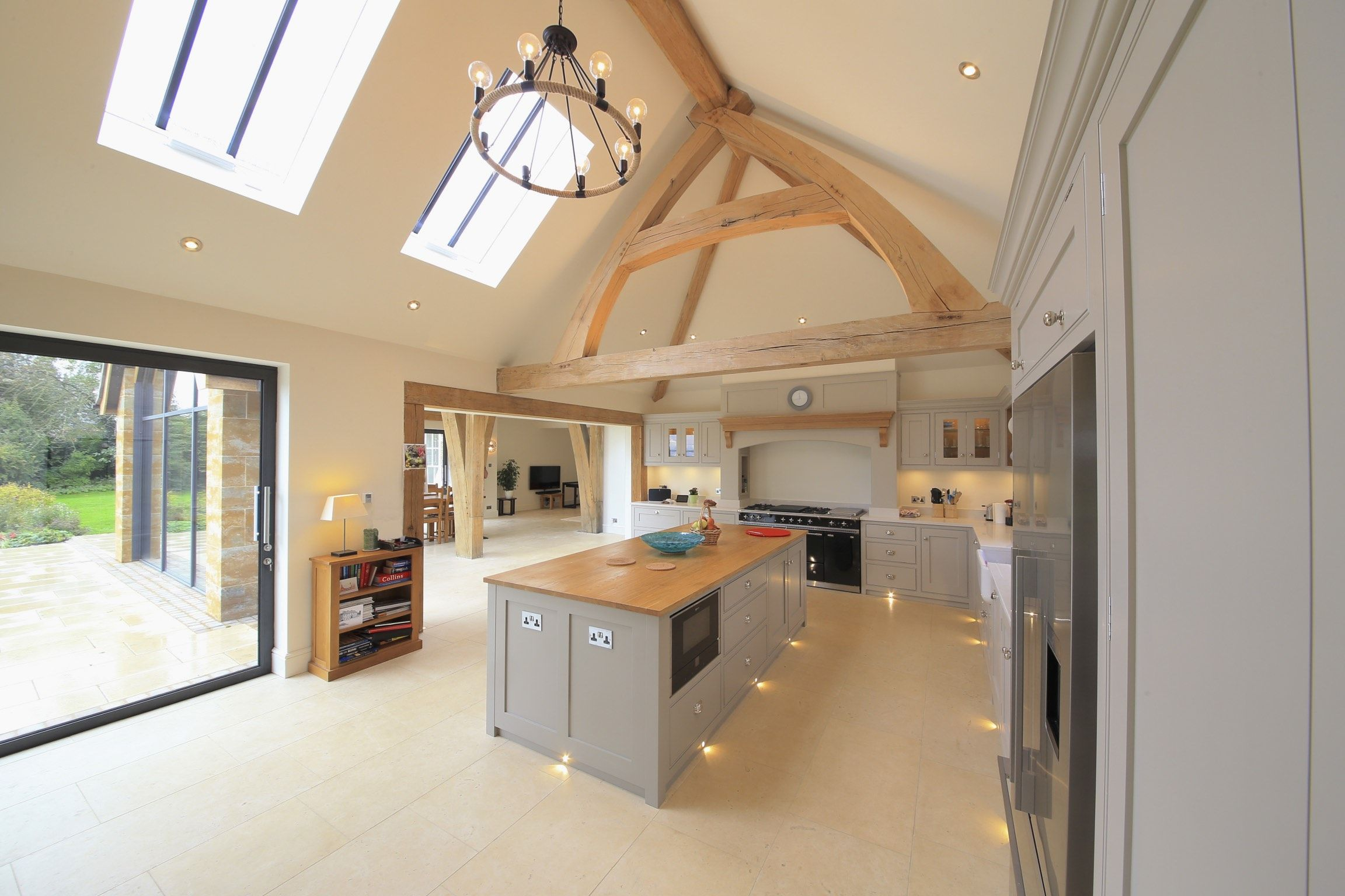 Oak Living Room Ideas Oak Frame Truss Kitchen Living Room Inspiration Ideas Oak