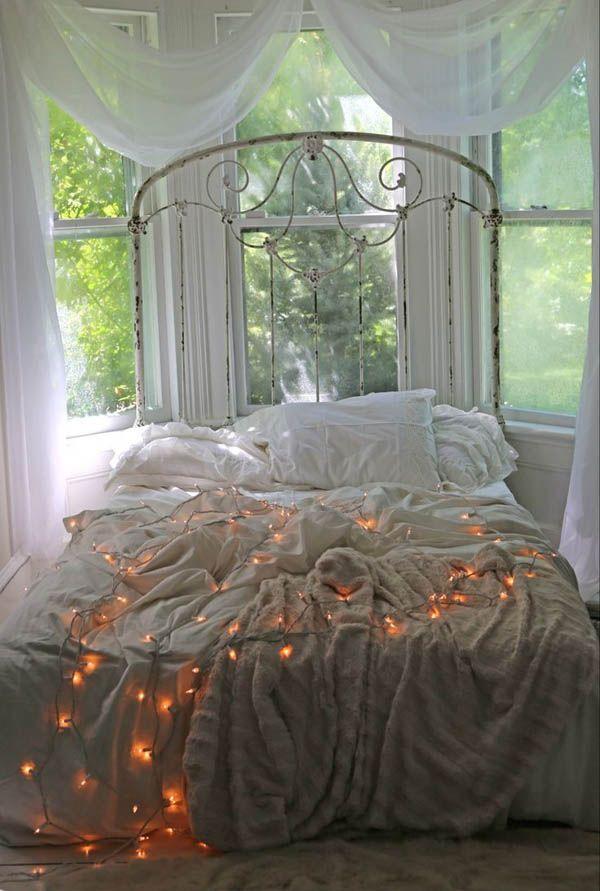 Schon #Schlafzimmer 2018 Weihnachtsbeleuchtung Im Schlafzimmer #modern # Schlafzimmer Ideen #Schlafzimmerbeleuchtung #bedroms
