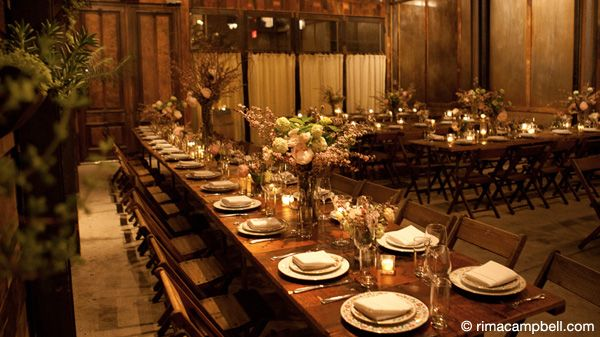 I love the Brooklyn Winery for nifty, rustic city weddings.   Small ...
