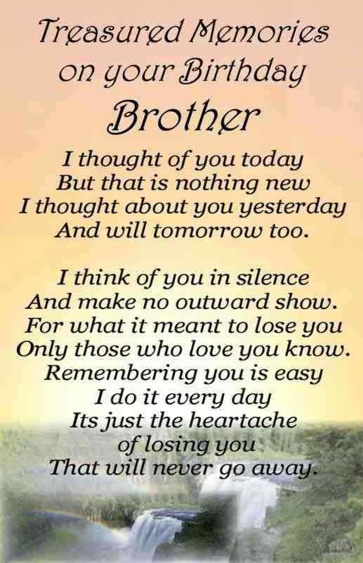 For My Brother Roan Happy Birthday In Heaven You Are Missed And