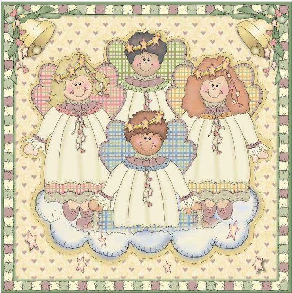 Decoupage - Angelitos y hadas - Gloria - Picasa Web Albums