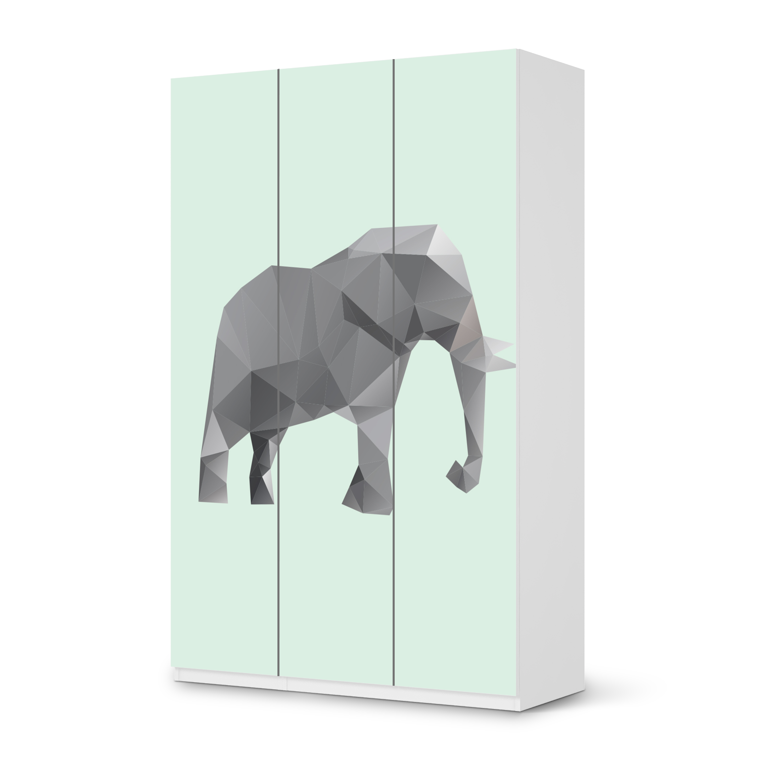 m belfolie origami elephant pax schrank 236 cm h he 3 t ren t14 bubele. Black Bedroom Furniture Sets. Home Design Ideas