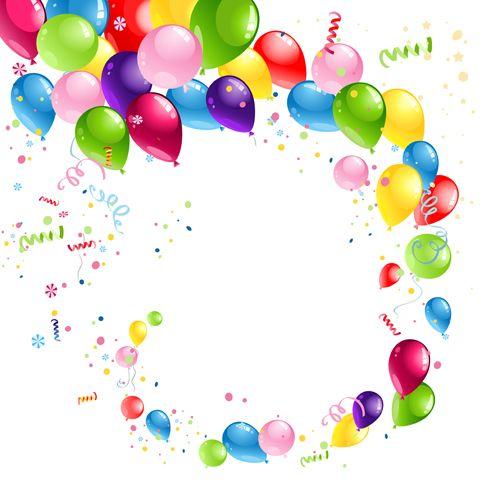Shiny Balloons Shiny Color Balloons Vector 01  Freedis  Pinterest  Birthday