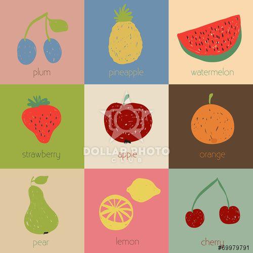 https://it.dollarphotoclub.com/stock-photo/Doodle fruit icons in retro colors/69979791Dollar Photo Club milioni di immagini stock per 1$ l'una