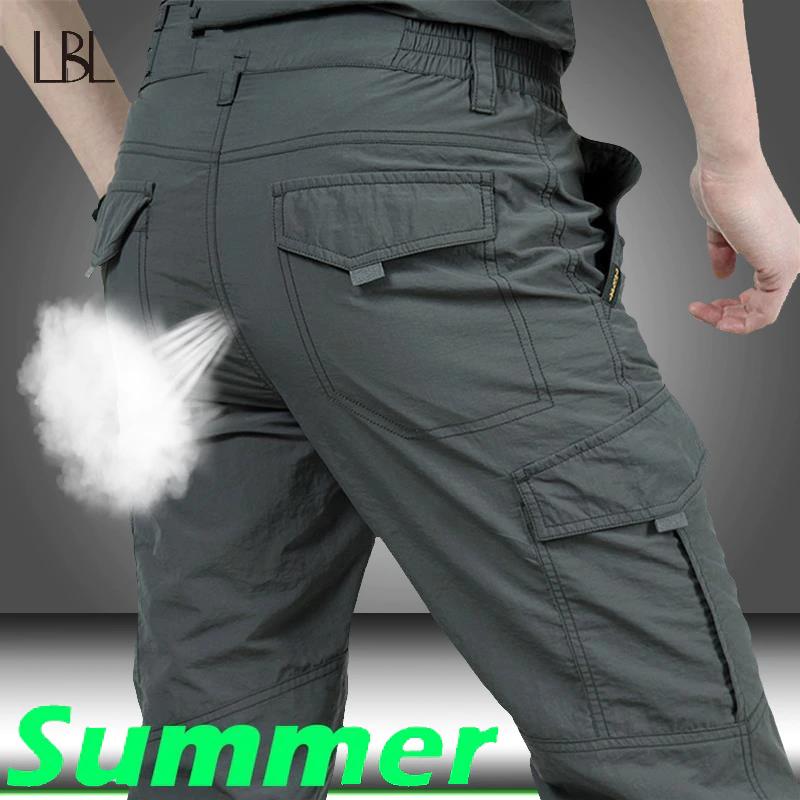 Compra Facil Vive Mejor Aliexpress Com Pantalones Impermeables Pantalones De Combate Pantalones Cargo Hombre