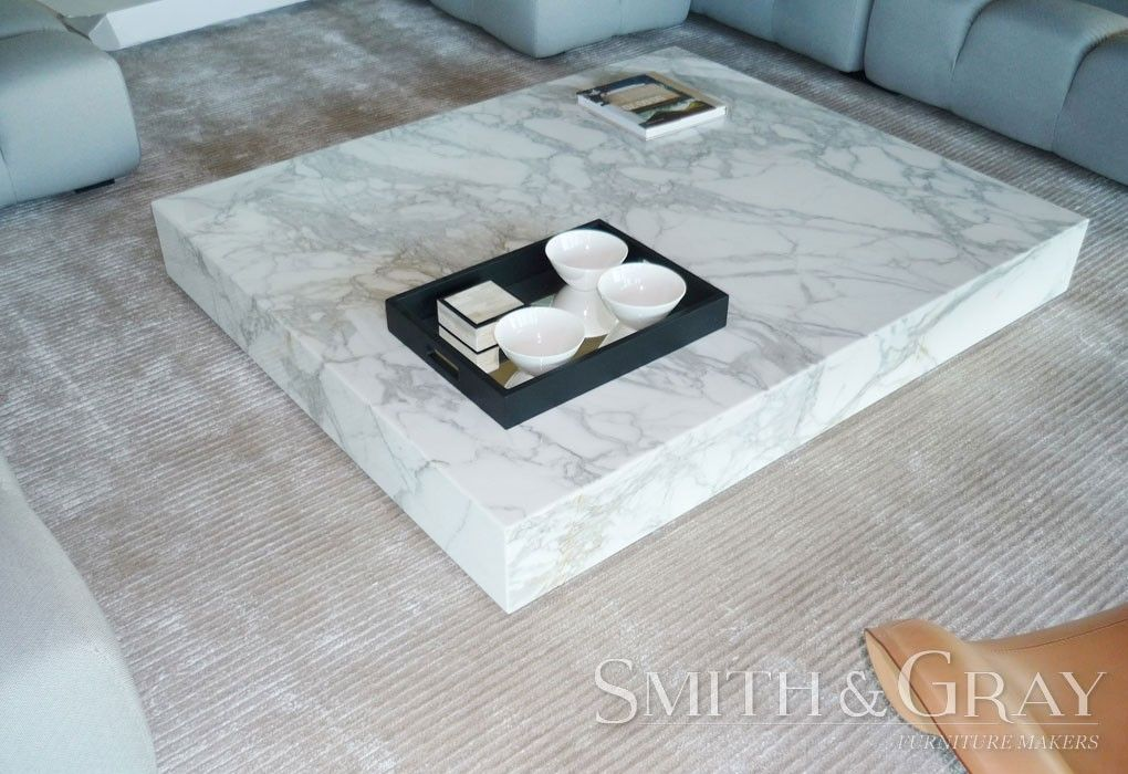 Low Marble Coffee Table Anese Style Custom Made Australian Furniture By Smith And Gray