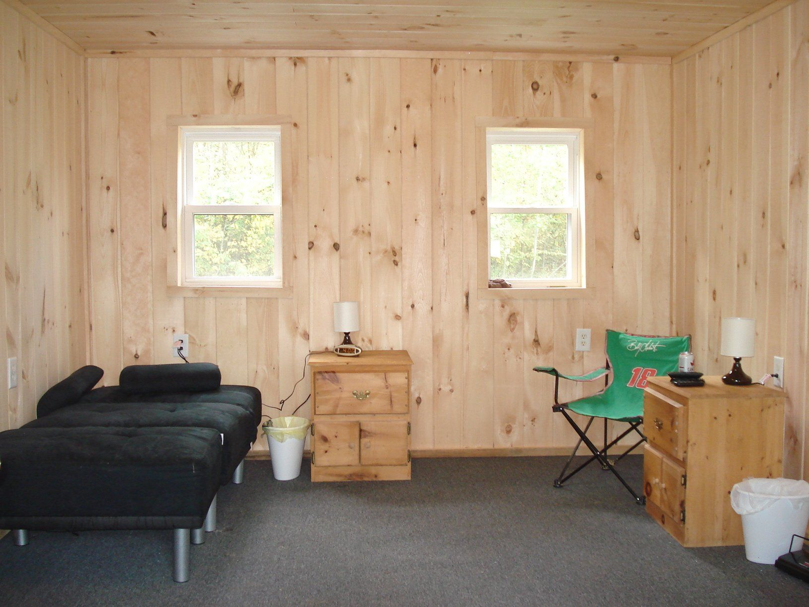 How To Finish The Inside Of A 12 X 20 Cabin On A Budget Diy
