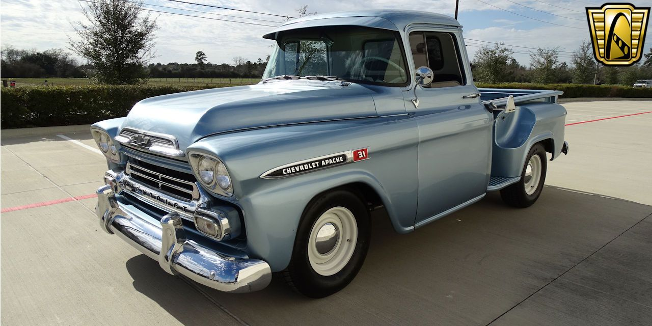 1959 Chevrolet Apache Offered For Sale By Gateway Classic Cars